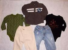 ~BABY GAP~ OLD NAVY~ WINTER/SPRING/FALL LOT JEANS, BODYSUITS, SWEATER Boy 6-12 M