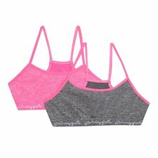 Pineapple Womens Pack Of Two Girls' Pink Sports Crop Tops From Debenhams