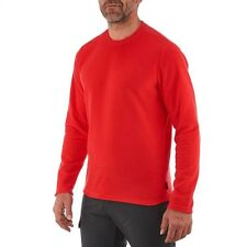 QUECHUA MENS MICRO FLEECE JUMPER HIKING OUTDOOR BREATHABLE LONG SLEEVE!NEW!