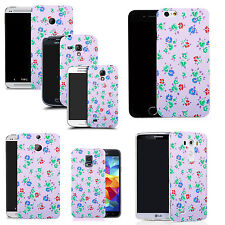 motif case cover for various Popular Mobile phones - floral bunch