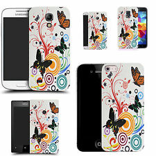 motif case cover for many Mobile phones -  swirl butterfly