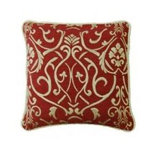 Vintage Cushion Cover Sofa Décor Ethnic Chenille French Traditional Burgundy
