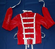 Real Cow Leather Straight Jacket Restraint Armbinder