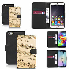 pu leather wallet case for many Mobile phones - traditional symphony