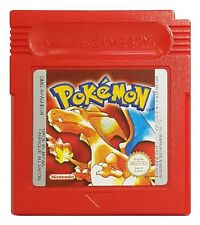 POKEMON: RED VERSION (Game Boy Game) Gameboy Color WORKING SAVE A