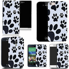 pictoral case cover for most Popular Mobile phones - footprint