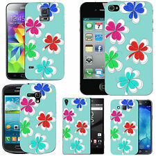 motif case cover for many Mobile phones - azure multi clover
