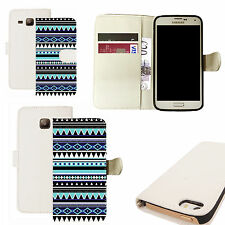 pu leather wallet case for majority Mobile phones - enhance white