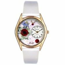 WHIM-C0910007-Whimsical Watches Womens C0910007 Classic Gold Birthstone: July W