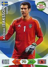 PANINI ROAD TO FIFA WORLD CUP BRAZIL 2014 - SWEDEN - Single Cards or Set