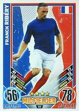 MATCH ATTAX EURO STARS 2012 IRELAND Edition - FRANCE - selection - TOP MINT