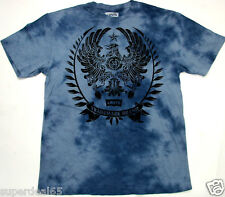 Levi's T Shirt Levis Strauss & Co Blue Tie Dye Wash Eagle 100% Cotton Levis