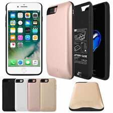 Rechargeable Power Bank Battery Charger Case Backup Cover For iphone 7/7 Plus