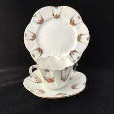 FOLEY WILEMAN TRIO 1896 PRE SHELLEY cup saucer and plate DAINTY