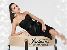 JORDAN FASHIONS LBD 6 8 10 12 BLACK LACE COCKTAIL PARTY PROM BRIDESMAID DRESS