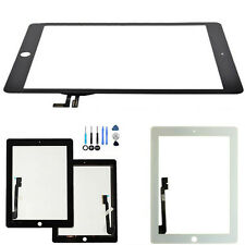 New For Apple iPad 2/34,iPad 5 air Front Touch Screen Glass Digitizer+Free Tools