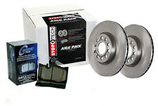 Rear Brake Rotors + Pads for 2011-2011 Dodge CHARGER SE [Rallye Packages]