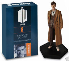 OFFICIAL DOCTOR WHO FIGURINE COLLECTION NO 8 10TH DOCTOR DAVID TENNANT