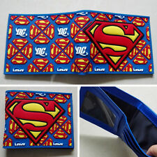 New DC Comics Superman Logo wallets Purse Multi-Color 12cm Plastic Leather W229