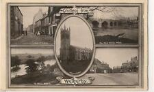 RP Postcard, Multi View - Greetings from Wetherby