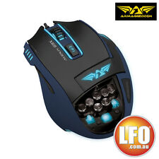 NEW Armaggeddon Mouse AlienCraft G9X IV Blue