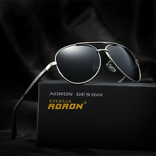 Polarized Mens Driving Fashion Brand Designer Aviator Sunglasses Eyewear Shades