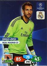 PANINI CHAMPIONS LEAGUE 2013-2014 - REAL MADRID - BASE CARDS selection