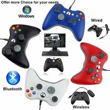 USB Wired Wireless Bluetooth Gamepad Controller Joypad for Xbox PC LOT