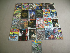 Comic Books 32 Marvel Captain America, Spawn, Archie, DC, Utopia, Star Trek Chix