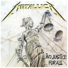 ...And Justice for All by Metallica (CD, 1988, Elektra - GREAT CONDITION