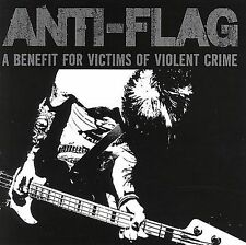 ANTI-FLAG A Benefit For Victims Of Violent Crime CD 2007 A-F Records punk rock