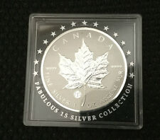 2011 Canada 9999 Silver Maple Coin - Fabulous 15 privy