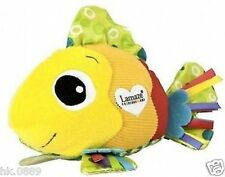 New Bright Color Lama__ze Feel Me Fish Baby Soft Developmental Toys