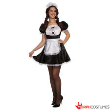 Womens Sexy French Mail Fancy Dress Ladies Naughty Maid Fantasy Costume Cosplay