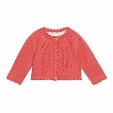 J By Jasper Conran Kids Girls' Pink Pointelle Cardigan From Debenhams