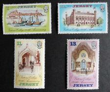 Jersey 1977 '125th Anniversary of Victoria College' SG179/182 Mounted Mint Set
