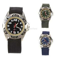Chic Outdoor Mens Stainless Steel Military Sports Casual Quartz Army Wrist Watch