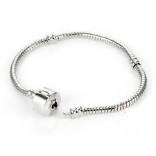 Silver Plated European Charm Bracelet Fit Beads Gift wholesale Lot