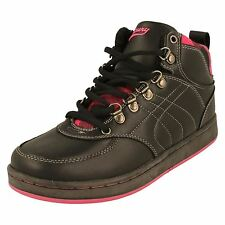 Lades Mercury Hi Top Trainers/Boots; Jackie -w