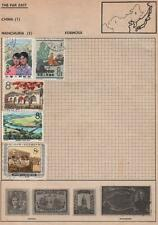 CHINA/JAPAN: Used Examples - Ex-Old Time Collection - 2 Sides of Page (4623)