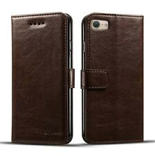 Luxury Leather Wallet Card Case With Strap Flip Cover For Apple iPhone 7/7 Plus