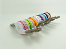Retractable 2in1 Micro USB + Lightning Data Syn Charger Cable For Samsung Iphone