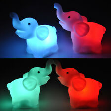 Battery Powered LED Color Changing Mood Lamp Night Light Romantic Decor 9 Styles