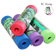"Durable 72*24*0.3"" Yoga Mat 8mm Thick Nonslip Pad Exercise Fitness Yoga mat Bag"