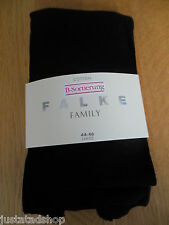 FALKE cotton Family tights black brown wine BNWT S S/M 36-38-40