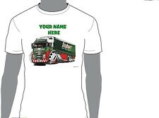 KOOLART EDDIE STOBART PERSONALISED NAME T-SHIRT GIFT  PRESENT CHRISTMAS  DES 4