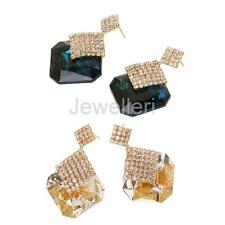 Fashion Vintage Retro Women Crystal Earring Ear Stud Drop Earrings Party Jewelry