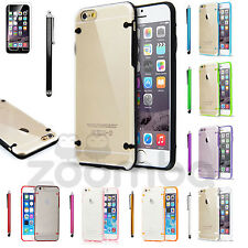 Slim Glow in Dark Hard Transparent Clear Luminous Case for For Apple iPhone 6 6S