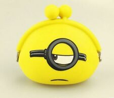 New DESPICABLE ME MINION Coin Purse childrens designs party bags  lyo-589
