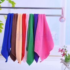 "1Pc New Microfiber Cleaning Hand Wash Towels Rags Kitchen Small Cloth 9""×9"" DG"